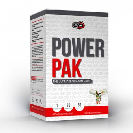 Pure Nutrition Power PAK | Мултивитамини, 60 пакета
