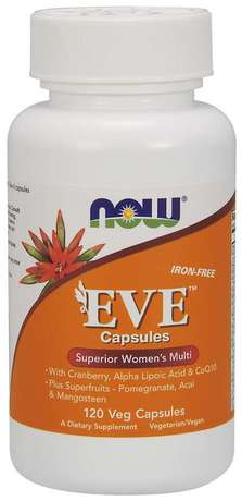 NOW Foods Eve Women's Multi Vitamin | Ева мултивитамини за жени, 120 капсули