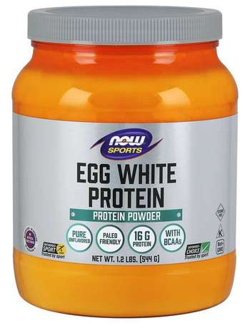 NOW Sports Eggwhite Protein | Яйчен Протеин, 544 гр.
