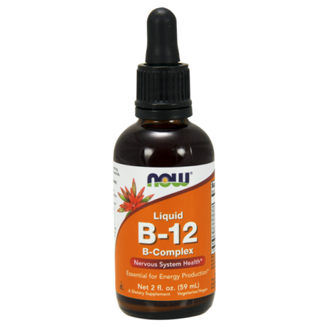 NOW Foods Vitamin B12 Complex | Витамин Б12, 60 мл.