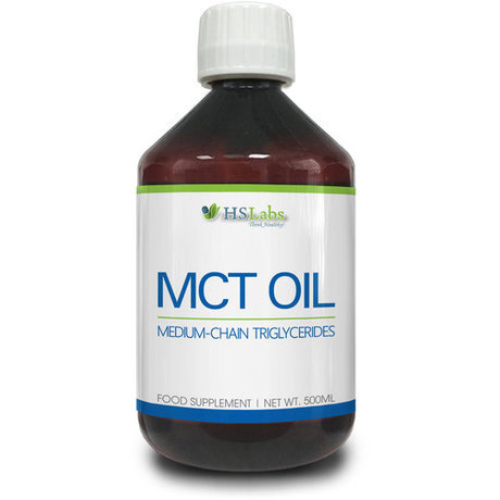 HS Labs MCT Oil | Средноверижни триглицериди, 500 мл.