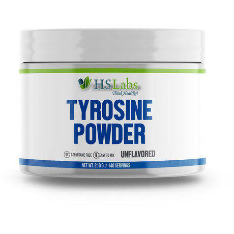 HS Labs Tyrosine Powder | Тирозин, 210 гр.