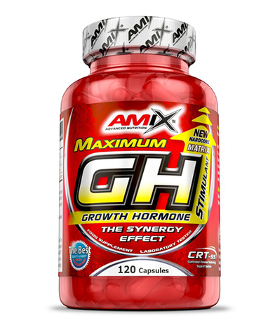AMIX Maximum GH Stimulant | Хормон-Стимулатор, 120 капсули