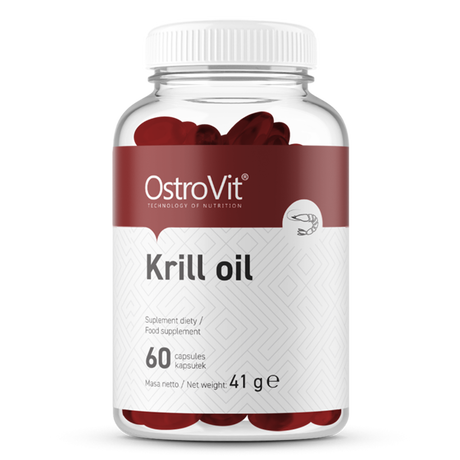 OstroVit Krill Oil | Масло от Крил, 60 капсули