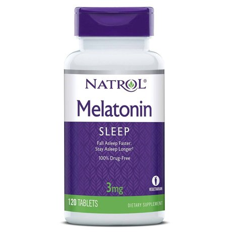 Natrol Melatonin 3mg | Мелатонин, 120 таблетки