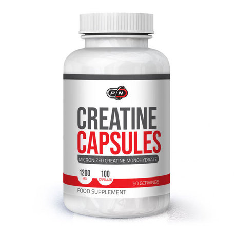Pure Nutrition Creatine Capsules | Креатин, 100 капсули
