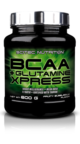 Scitec Nutrition BCAA + Glutamine Xpress | БЦАА + Глутамин, 600 гр