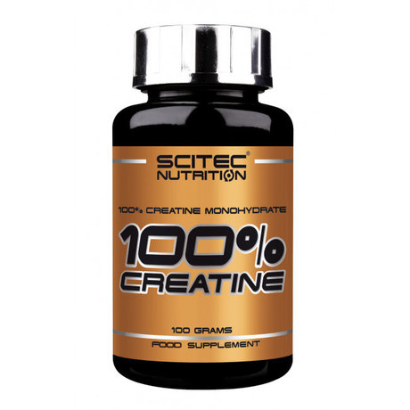 Scitec Nutrition 100% Creatine | Креатин 100 гр.