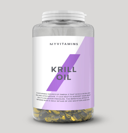 Myprotein Krill Oil | Масло от Крил, 90 дражета