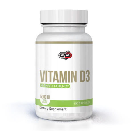 Pure Nutrition Vitamin D3 5000IU | Витамин Д3, 100 капсули