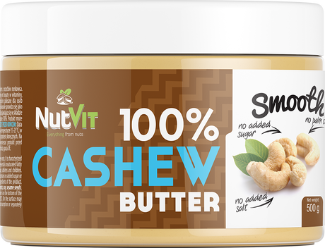 OstroVit Cashew Butter Smooth | Масло от Кашу, 500 гр.