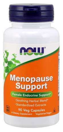 NOW Foods Menopause Support | Билки при Менопауза, 90 капсули