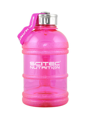 Scitec Nutrition Water Jug Pink | Бутилка за вода, 1300 мл.