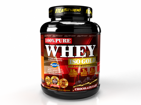 Fit & Shape Pure Whey ISO Gold | Протеин Комплекс, 2270 гр.