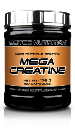 Scitec Nutrition Mega Creatine | Креатин, 150 капсули