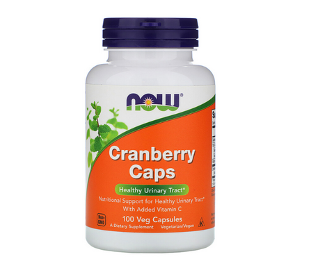 NOW Foods Cranberry Caps | Екстракт от Боровинки, 100 капсули