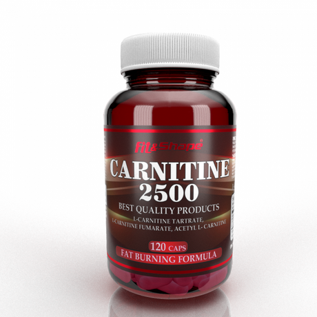 Fit & Shape Carnitine 2500 | Л-Карнитин, 120 капсули