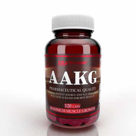 Fit & Shape Arginine AKG | Аргинин, 120 капсули