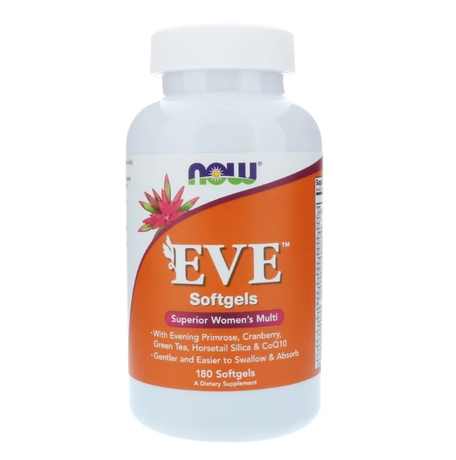 NOW Foods Eve Women's Multiple | Ева мултивитамини за жени, 180 дражета