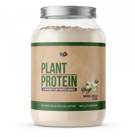 Pure Nutrition Plant Protein Natural Vanilla | Растителен протеин, 1600 гр.
