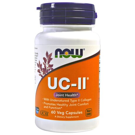 NOW Foods UC-II Joint Health | Колаген Тип 2, 60 капсули