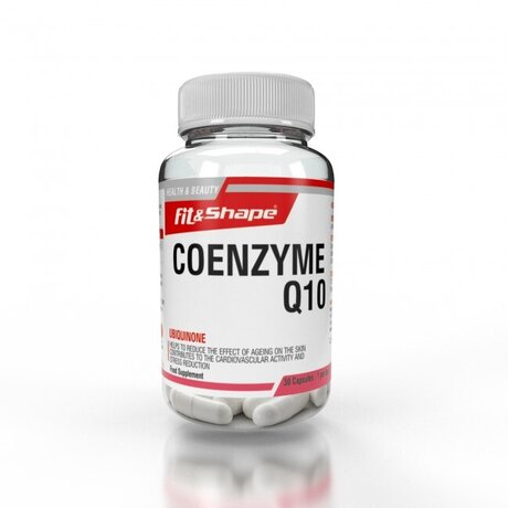 Fit & Shape Coenzyme Q10 100mg | Коензим Q10, 30капсули
