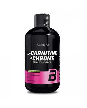 BioTech USA L-Carnitine & Chrome | Л-Карнитин и Хром, 500 ml.