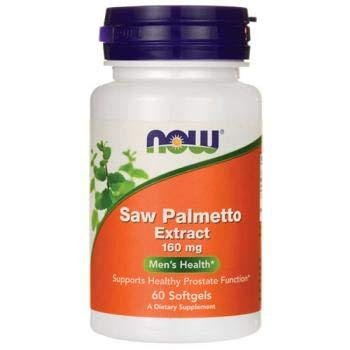 NOW Foods Saw Palmetto Extract 160mg | Сау палмето, 60 дражета