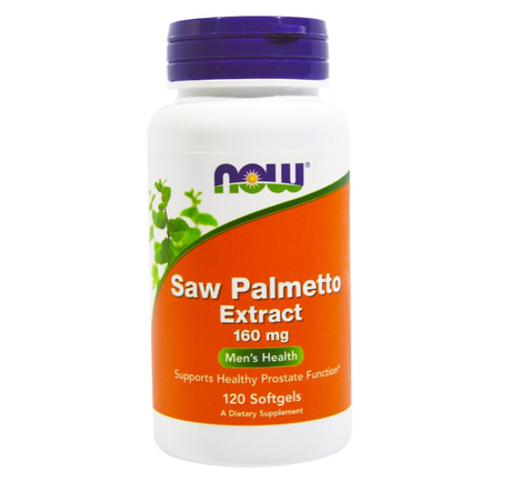 NOW Foods Saw Palmetto Extract 160mg | Сау палмето, 120 дражета