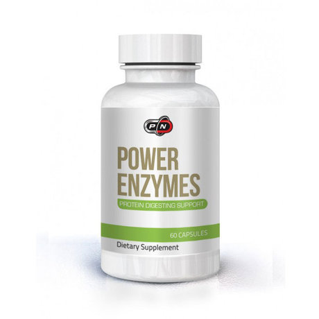 Pure Nutrition Power Enzymes | Ензими, 60 капсули