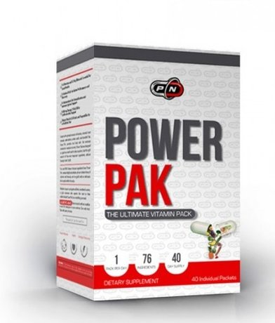 Pure Nutrition Power PAK | Мултивитамини, 40 пакета