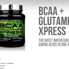 Scitec Nutrition BCAA + Glutamine Xpress | БЦАА + Глутамин, 300 гр