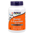 NOW Foods Acetyl L-Carnitine 500mg | Л-карнитин, 100 капсули