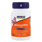 NOW Foods Astaxanthin 4mg | Астаксантин, 60 вег. дражета