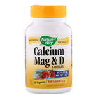 Nature's Way Calcium Mag & D | Калций, Магнезий и Д, 100 капсули