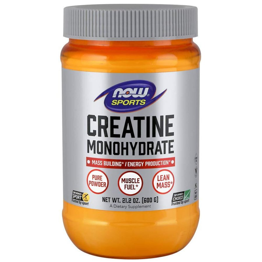 NOW Sports Creatine Monohydrate | Креатин, 600 гр