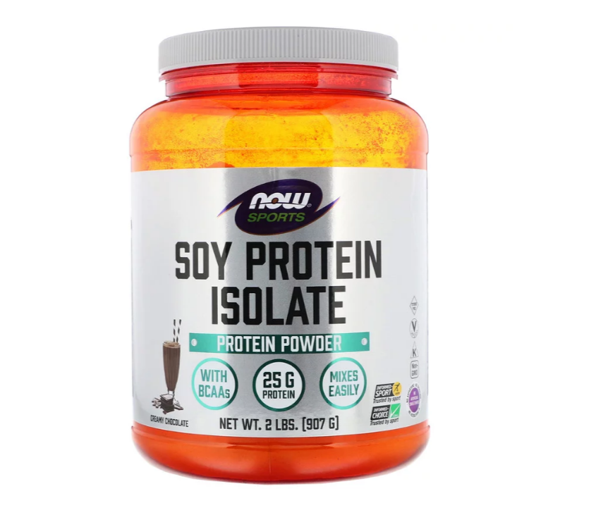 NOW Sports Soy Protein Isolate | Соев Протеин Изолат, 907 гр.