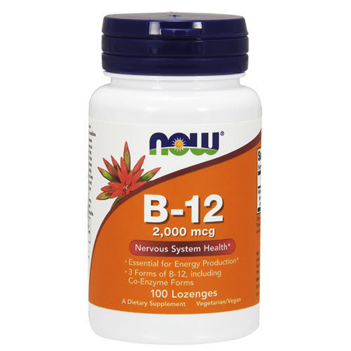 NOW Foods Vitamin B12 2000 mcg | Витамин Б12, 100 дражета