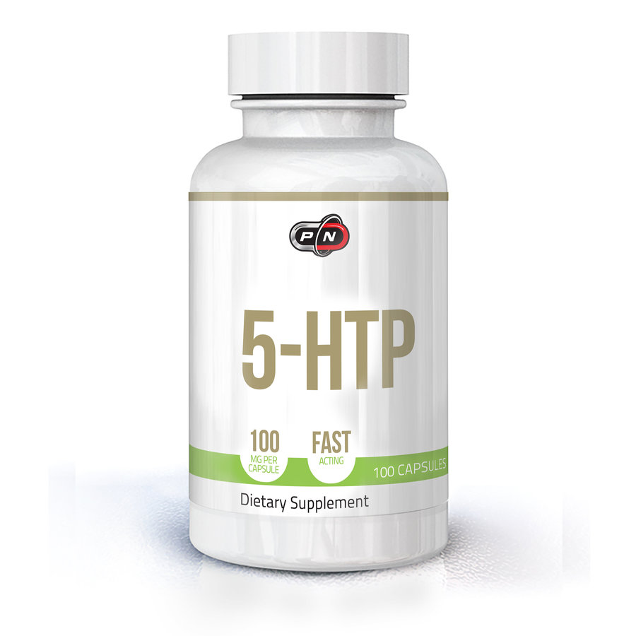 Pure Nutrition 5-HTP 100mg. | 100 капсули