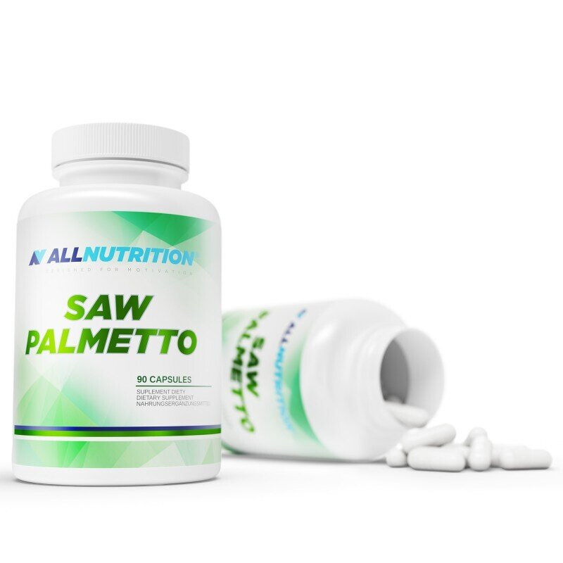 All Nutrition Saw Palmetto | Сау Палмето, 90 капсули