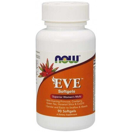 NOW Foods Eve Women's Multiple | Ева мултивитамини за жени, 90 драж.