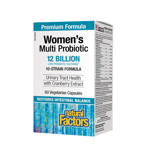 Natural Factors Women`s Multi Probiotic | Пробиотик за Жени, 60 капсули